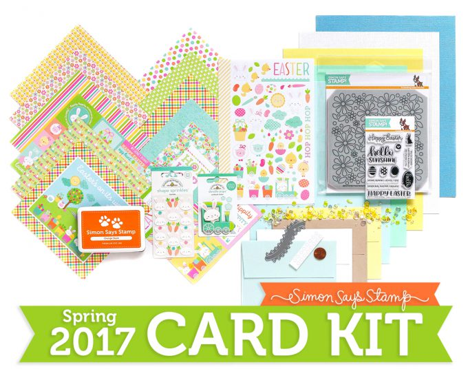LIMITED EDITION (EASTER) HOPPING ALONG CARD KIT