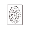 Simon Says Stencils Oval of Flowers