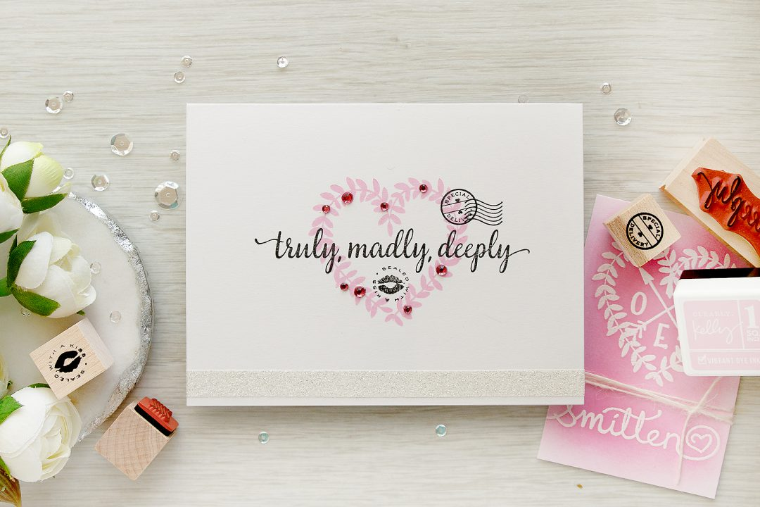 Hero Arts | Truly Madly Deeply - One Layer Stamping
