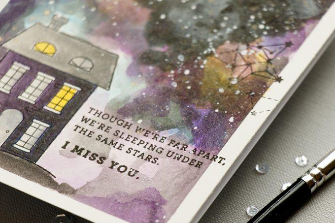 Simon Says Stamp | We're Sleeping Under The Same Stars Galaxy Card
