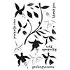 Hero Arts Color Layering Fuchsia Stamps