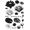 Hero Arts Color Layering Water Lilies Stamps