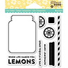 Jillibean Soup Lemonade Clear Stamp Set
