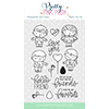 Pretty Pink Posh Friends Forever Stamp Set