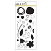 Right at Home Abstract Florals Clear Stamp