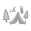 Spellbinders Camping Dies S3-275