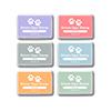 Simon Says Stamp Premium Dye Ink Pad Set Blooming Meadow