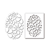 Simon Says Stamp Stencil and Dies Oval of Flowers Set292of New Beginnings