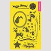 Waffle Flower Stitched Unicorn Stamp Set