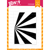 WPlus9 Big Top Background Stamp Set