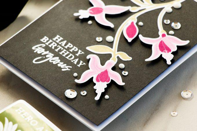 Hero Arts | Color Layering Fuchsia Happy Birthday Card by Yana Smakula