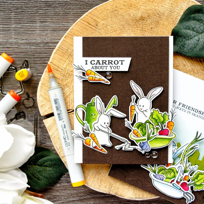 Hero Arts | My Monthly Hero I Carrot About You Card by Yana Smakula