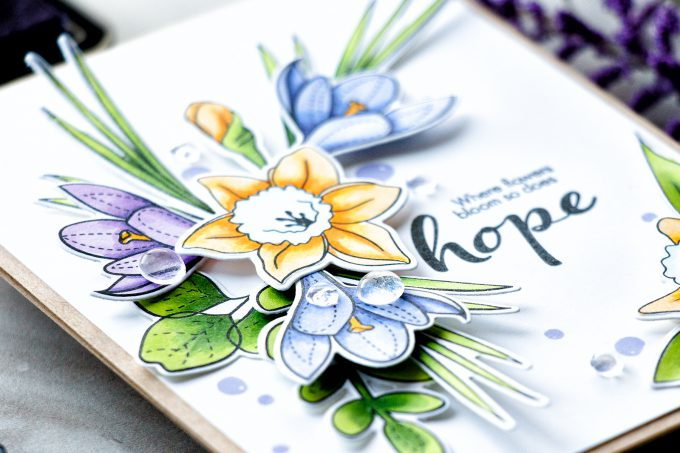 Simon Says Stamp   Where Flowers Bloom - So Does Hope
