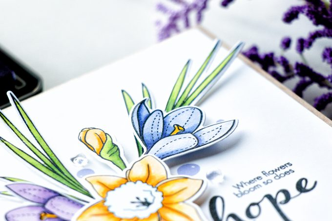 Simon Says Stamp | Where Flowers Bloom - So Does Hope