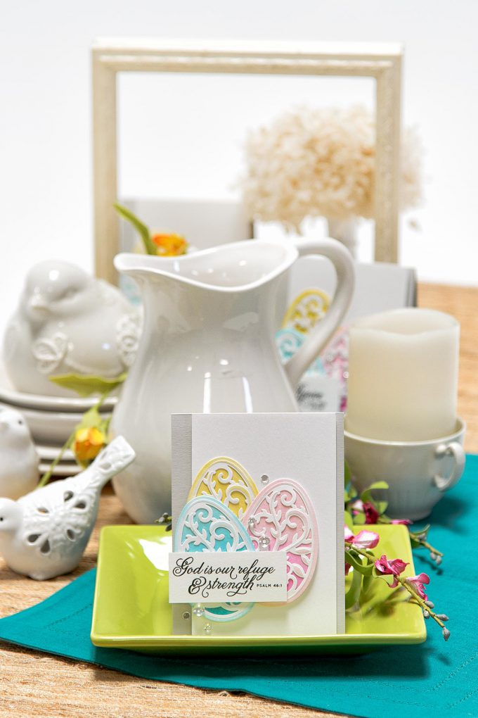 Spellbinders | Easter Cards. Die Cutting and Stencilling 3 Ways. Video