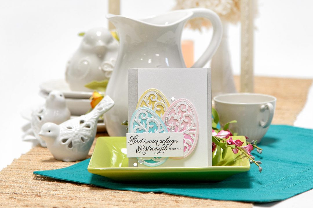 Spellbinders | Easter Cards. Die Cutting and Stencilling 3 Ways. Video