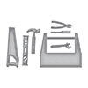 Spellbinders Die D-Lites Toolbox Dies S3-262