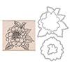 Hero Arts Artistic Dahlia Stamp + Die Combo