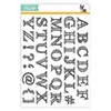 Simon Says Stamp Sketched Alphabet Stamp Set