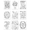 Simon Says Stamp Suzys Mothers and Flowers Watercolor Paintable Prints