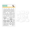Simon Says Stamps and Dies Mom and Dad Icons