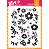 WPlus9 Spring Blooms Stamps