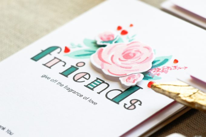 Simon Says Stamp | Floral Thank You Cards for Friends. Video