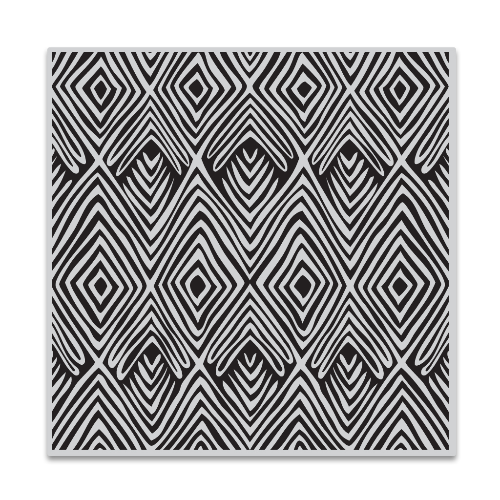 Hero Arts Tribal Stripes Bold Prints Cling Stamp
