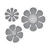Spellbinders Die D-lites Flower Power Etched Dies
