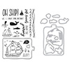 Hero Arts Enjoy the Journey Clear Stamp and Die Combo