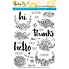 Honey Bee Hello Gorgeous Clear Stamp Set