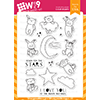 WPlus9 Little Dreamers Stamp Set