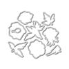 WPlus9 Modern Anemones Die