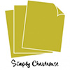 Papertrey Ink Perfect Match Simply Chartreuse Cardstock