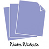 Papertrey Ink Perfect Match Winter Wisteria Cardstock