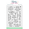 Pretty Pink Posh Thoughtful Greetings Stamp Set