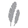 Spellbinders Die D-lites Two Feathers Etched Dies