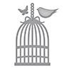 Spellbinders Die D-lites Bird Cage Etched Dies
