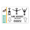 Simon Says Stamp Wine Aerobics Stamp Set
