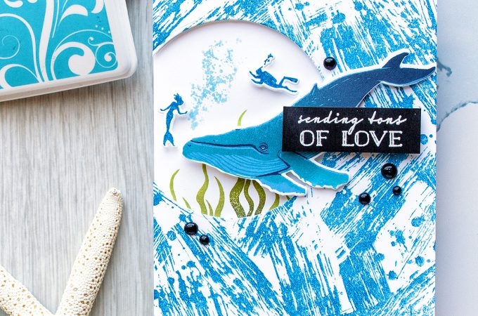 Hero Arts | Color Layering Whale - Sending Tons of Love