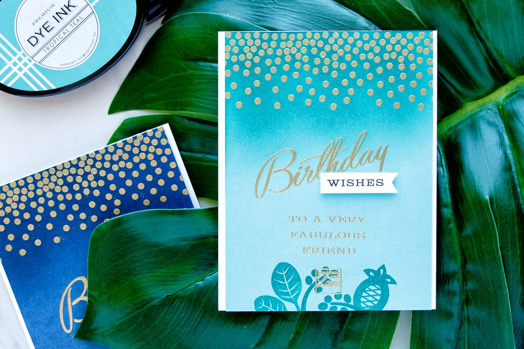 Papertrey Ink (PTI) | Stylish Birthday Cards Personalized with Color. Card by Yana Smakula