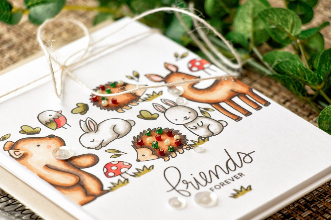 Pretty Pink Posh   Woodland Critters Card Sneak Peek