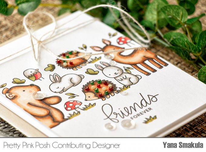 Pretty Pink Posh | Woodland Critters Card Sneak Peek