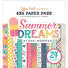 Echo Park Summer Dreams 6 X 6 Paper Pad