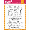 WPlus9 Happy Birds Stamp Set