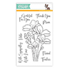 Simon Says Clear Stamps Bouquet of Thanks