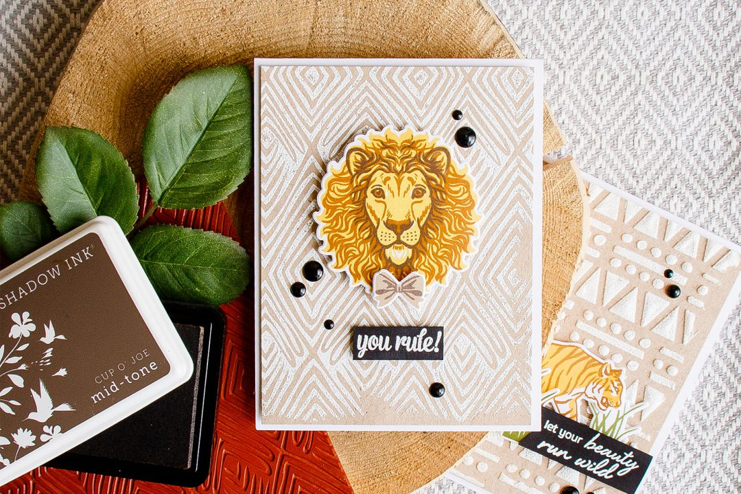 Hero Arts | You Rule Card with Color Layering Lion