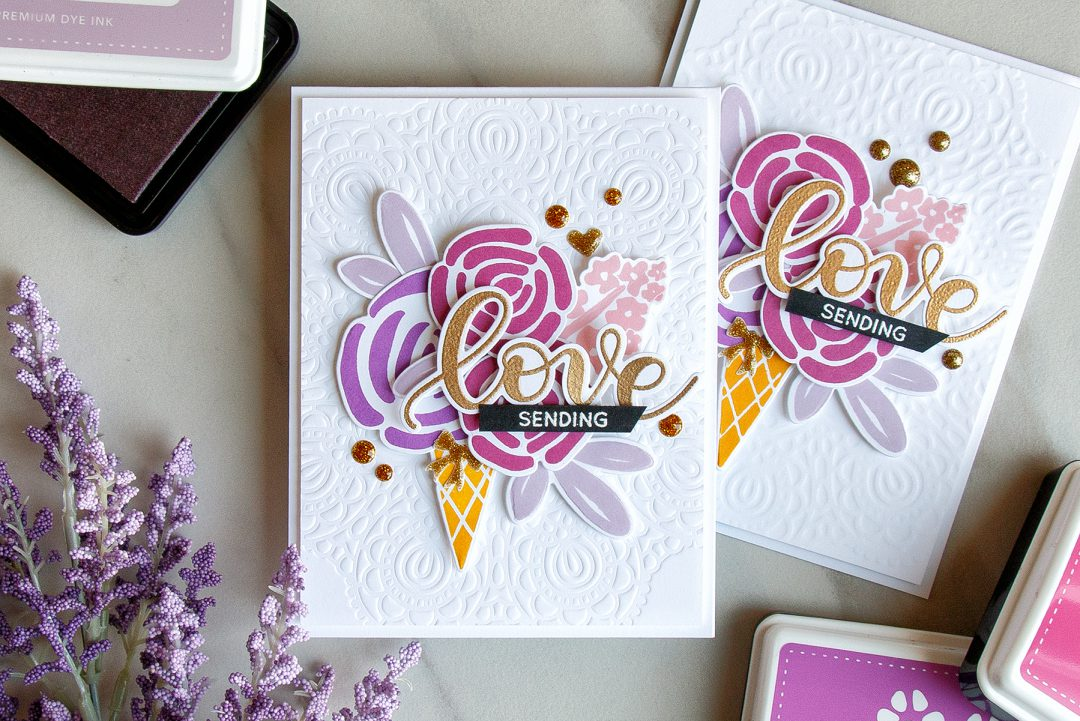Simon Says Stamp   Dry Embossing With Stencils. Video