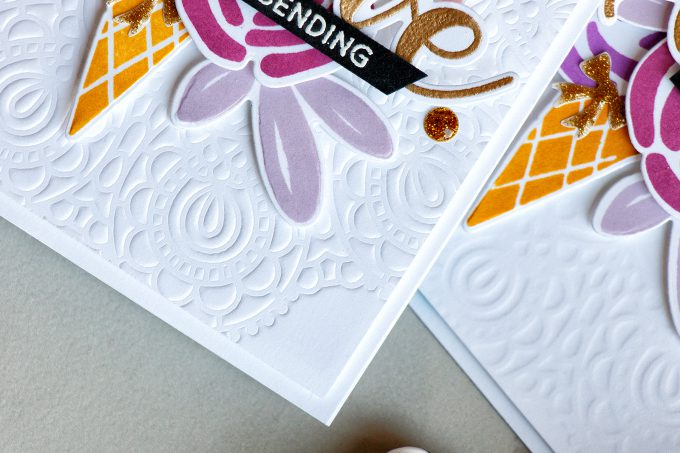 Simon Says Stamp | Dry Embossing With Stencils. Video