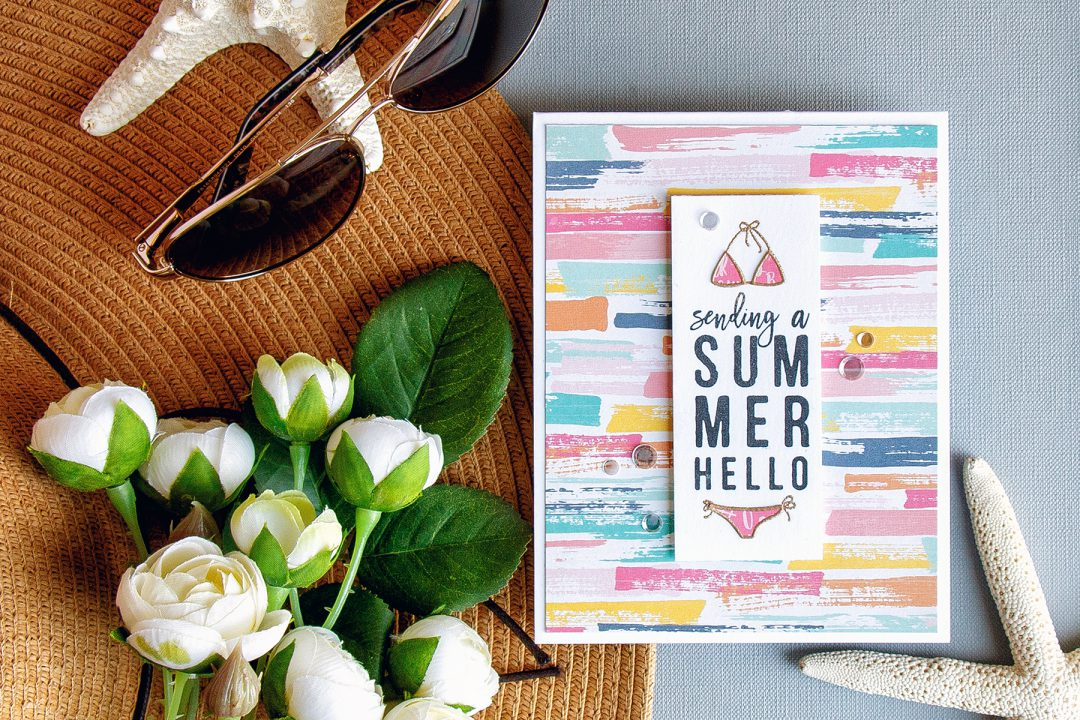Great Simon Says Stamp | July Card Kit   A Summer Hello